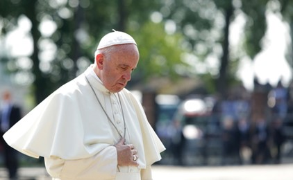Pope condemns sexual abuse as a vile and heinous crime IMAGE