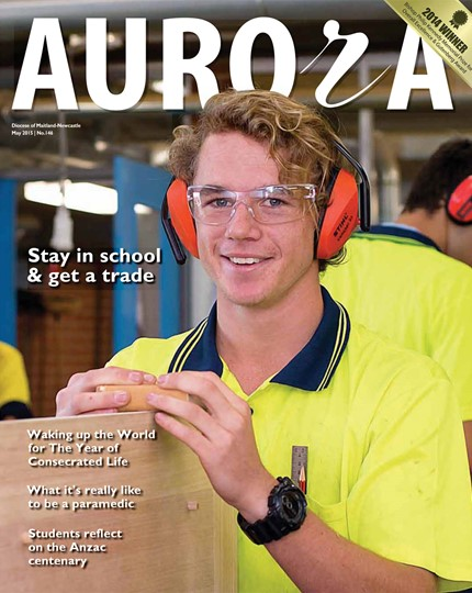 Aurora Magazine May 2015 Cover