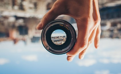 The lens through which we view the world IMAGE