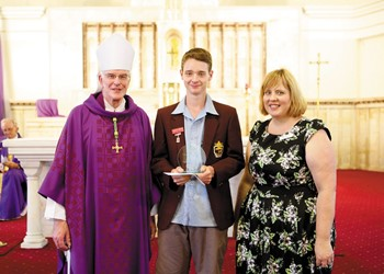 Bishop's Awards recognise community efforts of young Catholics  IMAGE