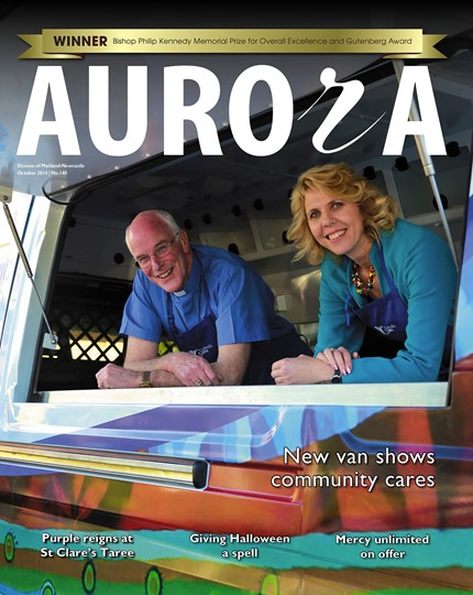 Aurora Magazine October 2014 Cover