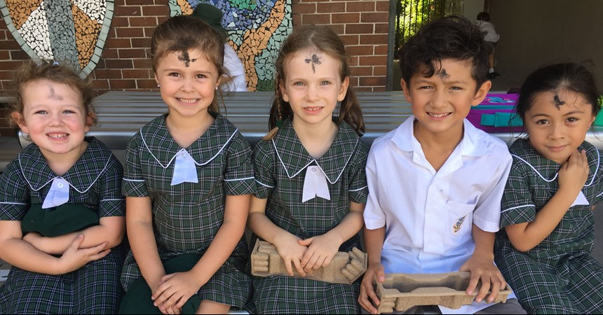 Ash Wednesday at Corpus Christi IMAGE