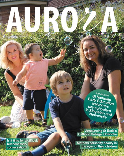Aurora Magazine May 2016 Cover