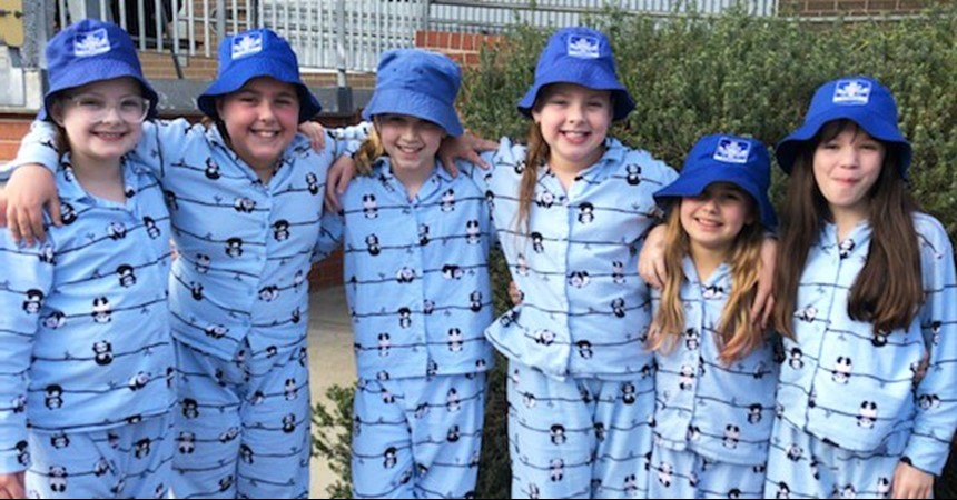 Holy Cross beds down Vinnies Winter Appeal fundraiser IMAGE