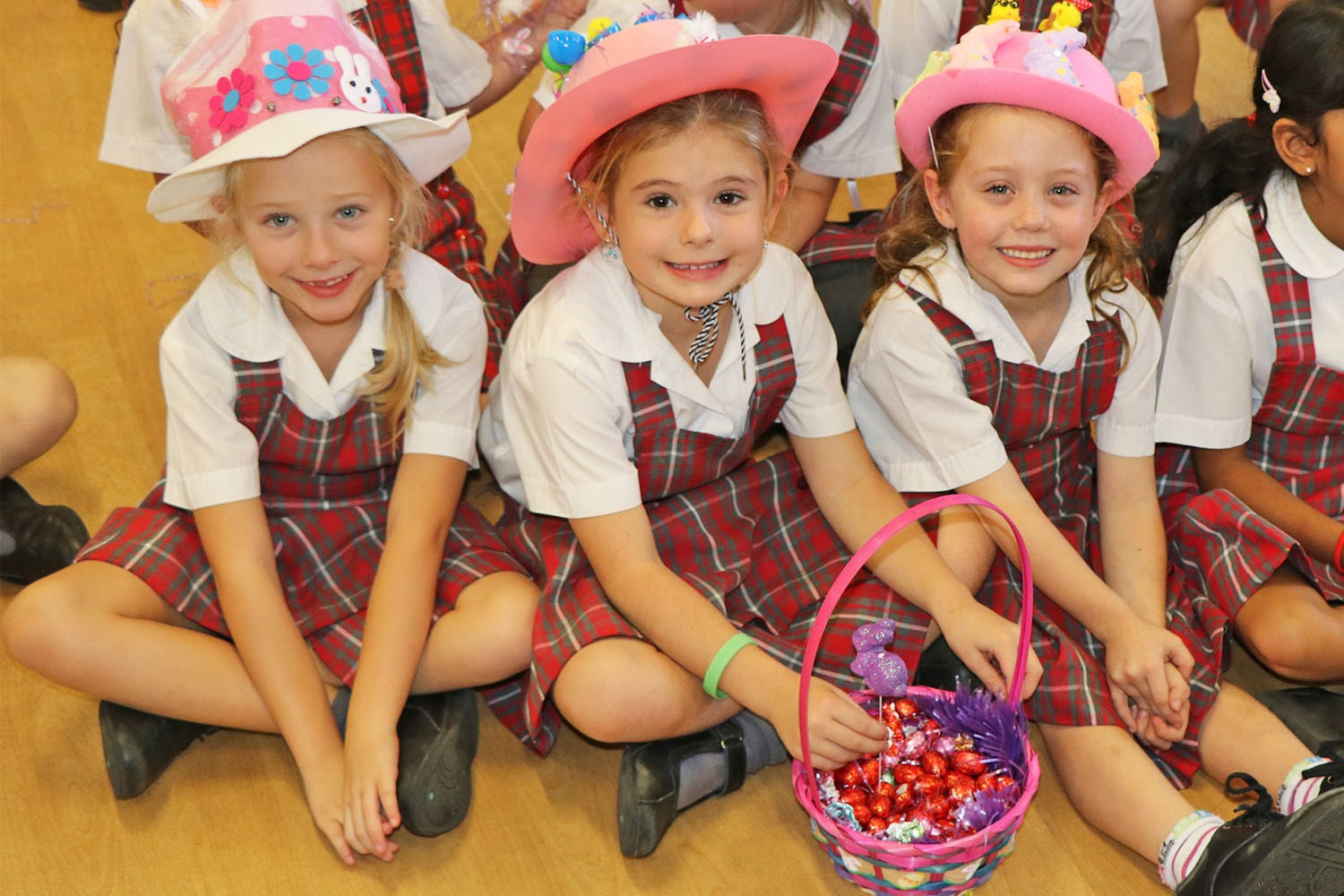 Image:GALLERY: Easter hat parade at St Benedict's