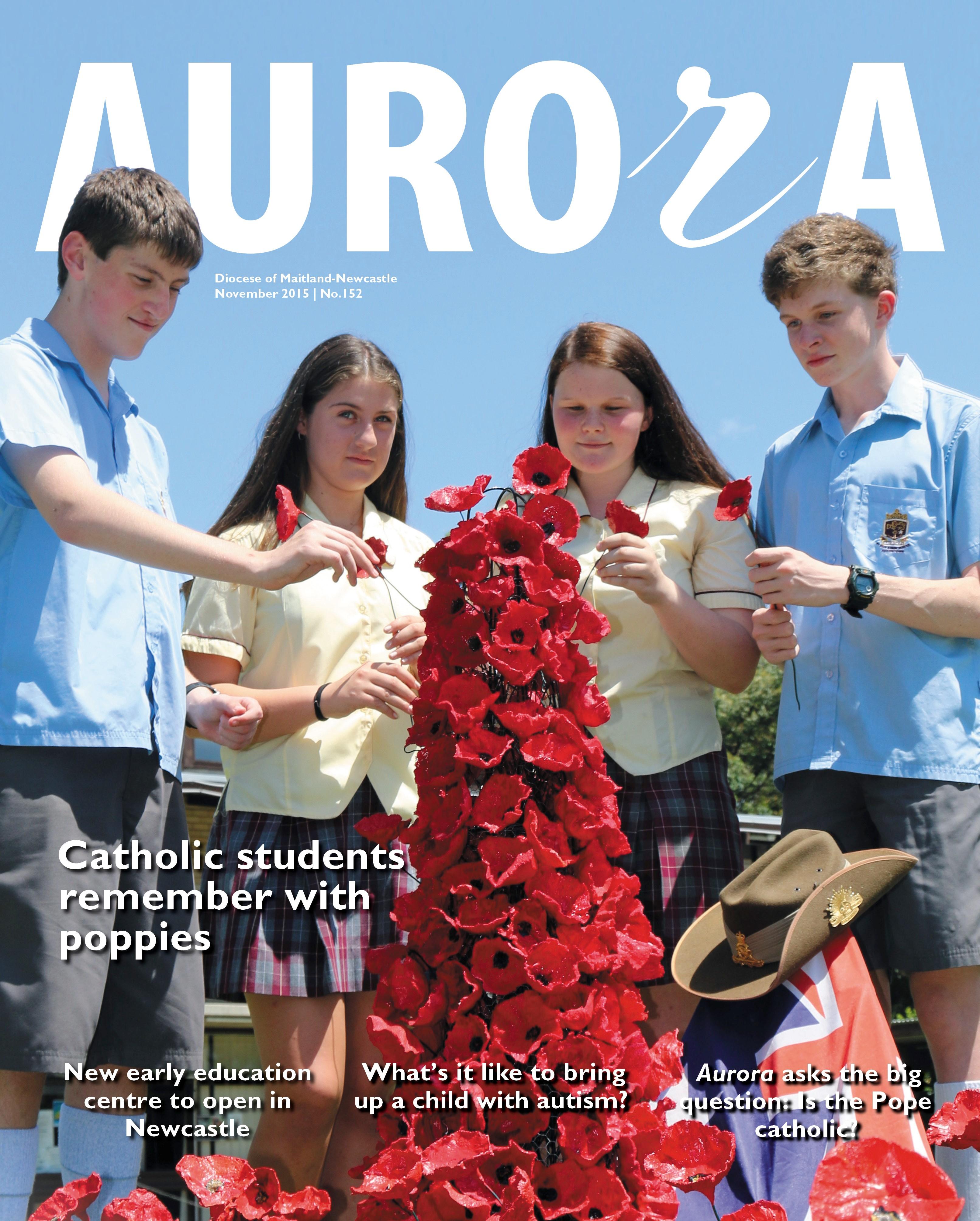 Aurora November 2015 Cover Image