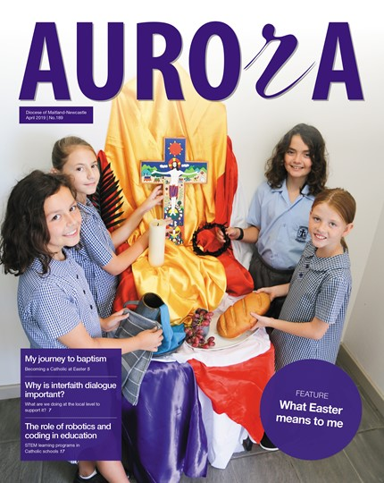 Aurora Magazine April 2019 Cover