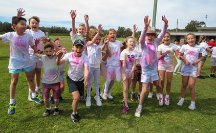 Image:'The best day ever' at St Francis Xavier's Belmont