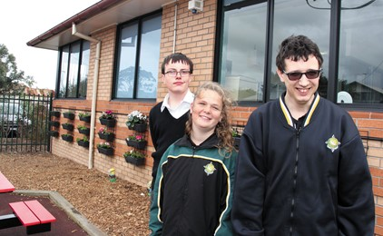 Can you plant some seeds for St Dominic's students? IMAGE