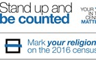 Mark your religion on the 2016 Census