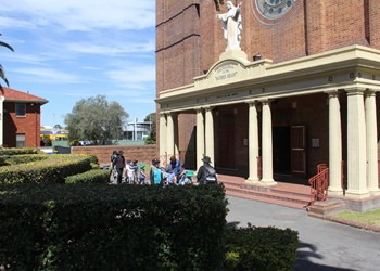 Our visit to Sacred Heart Cathedral IMAGE
