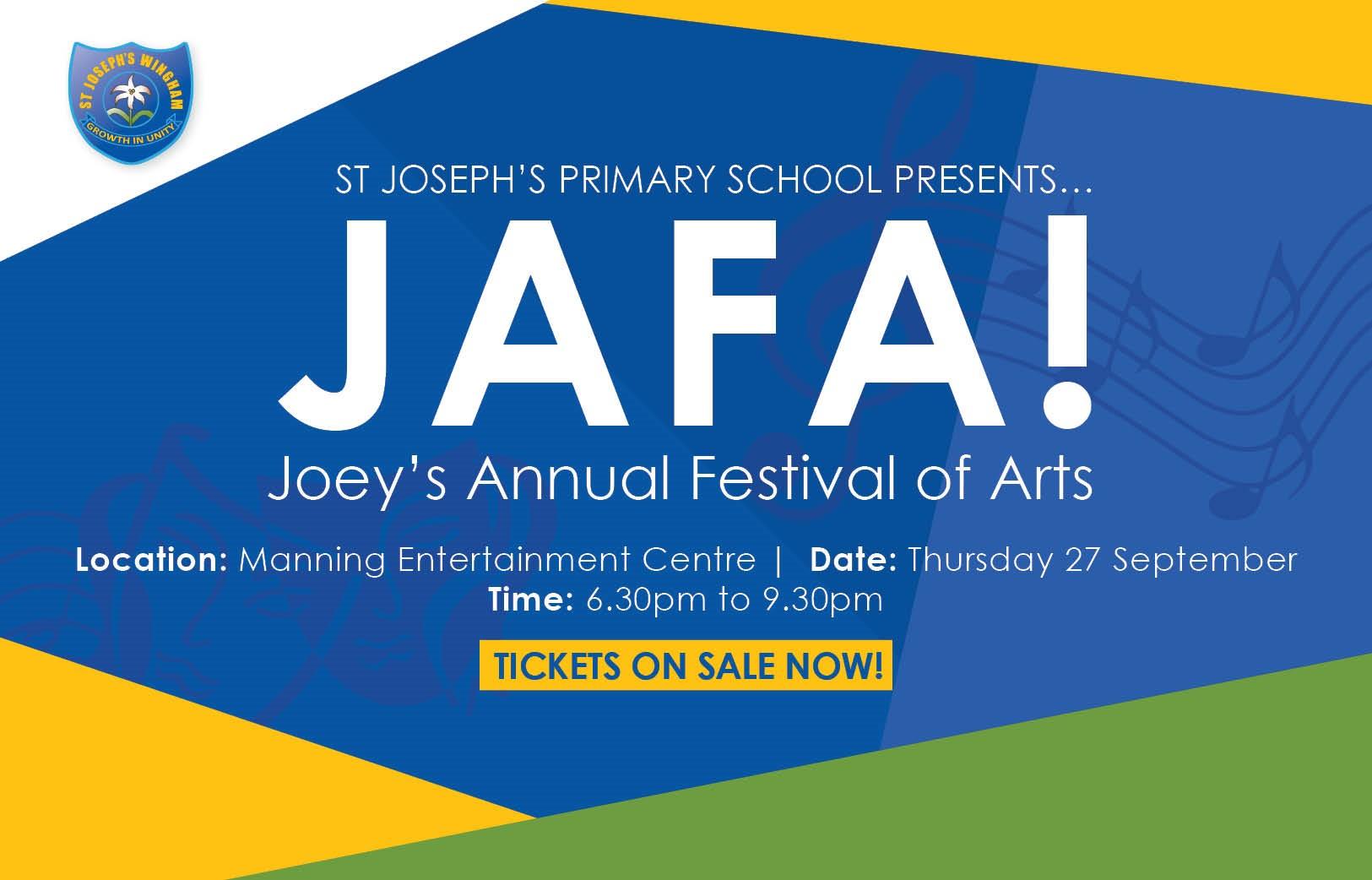 Image:St Joseph's Primary School presents… JAFA!