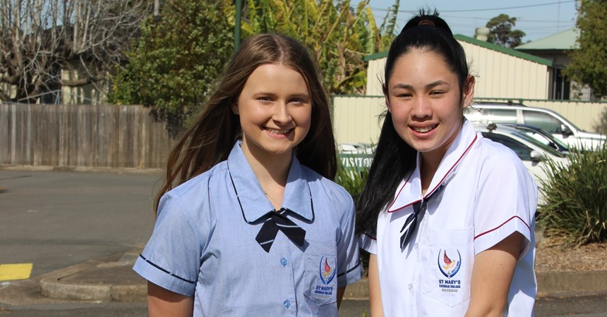 St Mary's prepares for Year 11 2018 IMAGE