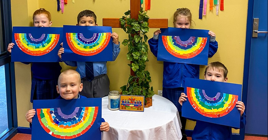 Wellbeing remains a focus at Holy Spirit, Abermain IMAGE