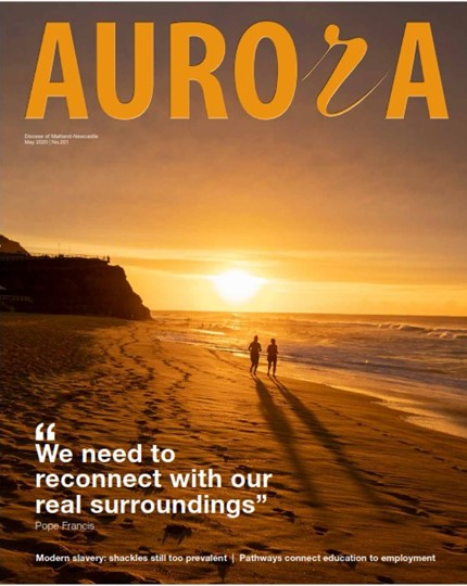 Aurora Magazine May 2020 Cover