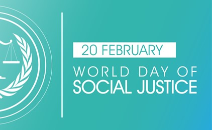 20 February is World Day of Social Justice IMAGE