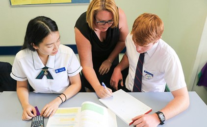 Flipping tradition at All Saints' College, St Mary's Campus  Image
