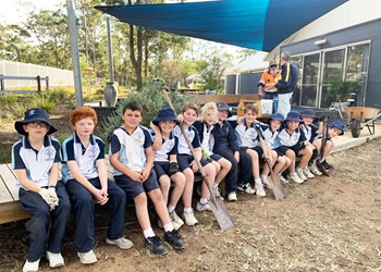 Rosary Park students strengthen their wellbeing skills IMAGE
