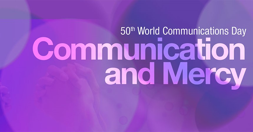 Celebrating the 50th World Communications Day IMAGE