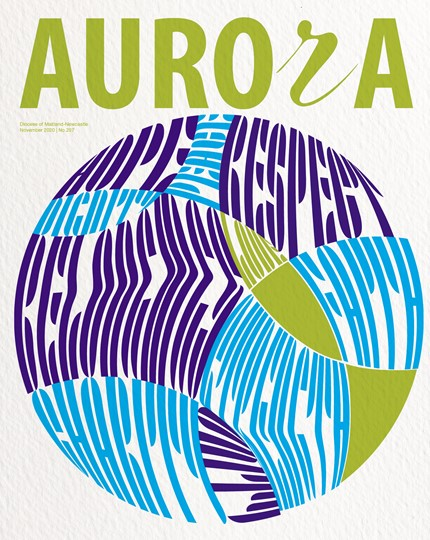 Aurora Magazine November 2020 Cover