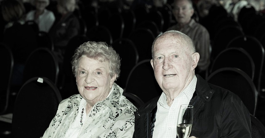 Celebrating 60 years of marriage IMAGE