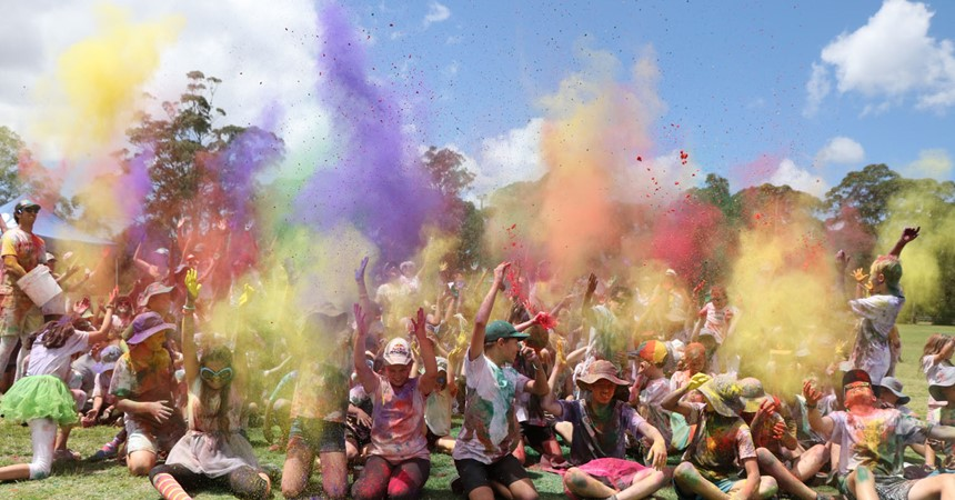 GALLERY: A splash of colour for St Benedict's goal  IMAGE