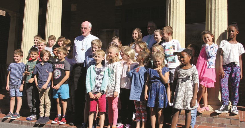Confirmation road trip for Forster Tuncurry children IMAGE