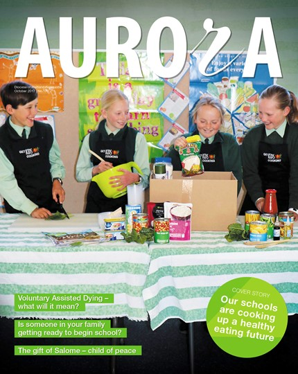 Aurora Magazine October 2017 Cover