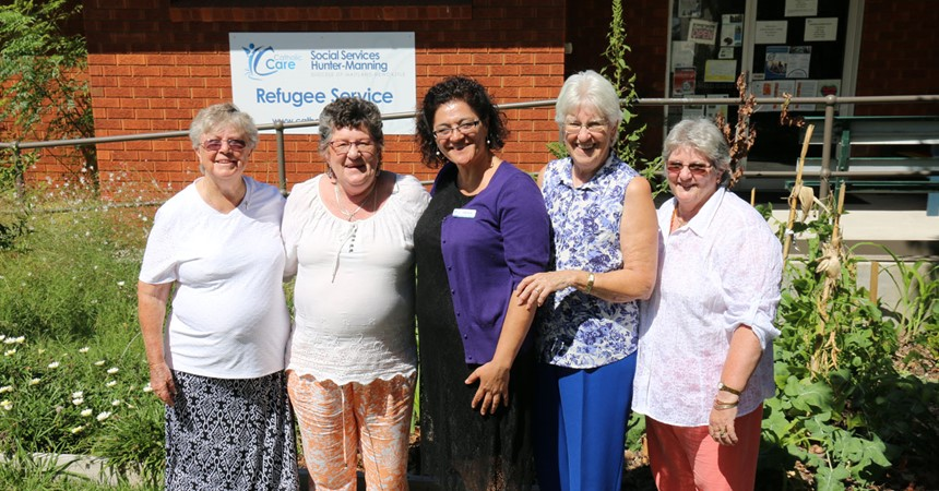Mayfield Parish and CatholicCare Refugee Service fete IMAGE