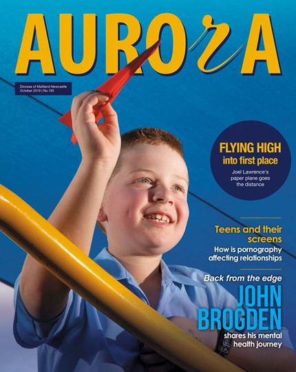 Aurora Magazine October 2019 Cover