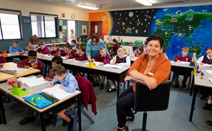 Literacy and numeracy plan adds up IMAGE