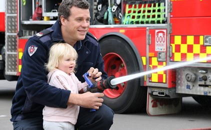 VIDEO: NSW Fire & Rescue visits St Nick's Newcastle West IMAGE