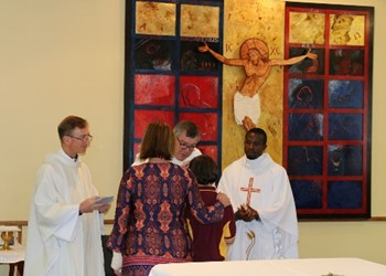 Providing a work space for Confirmation liturgy preparation IMAGE