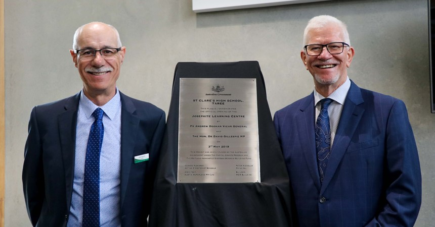 St Clare's Taree officially opens the Josephite Learning Centre IMAGE