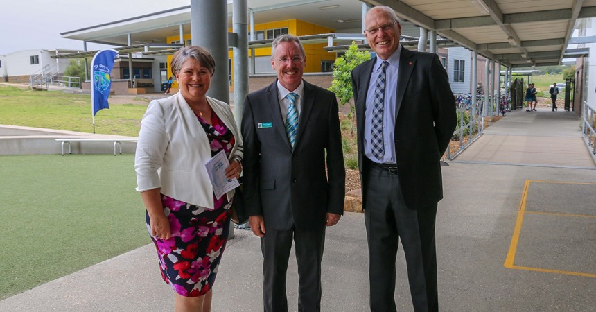 St Aloysius Chisholm officially opens Stage 2 facilities IMAGE