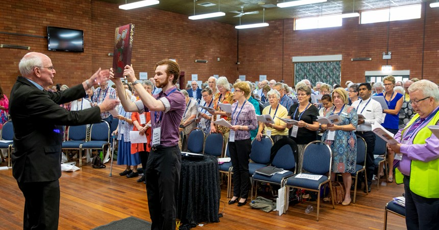 Synod question makes strong statement IMAGE