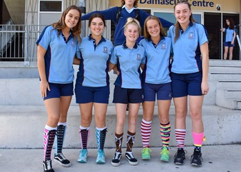 St Paul's Booragul sock it to poverty IMAGE