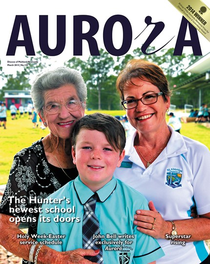 Aurora Magazine March 2015 Cover