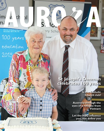 Aurora Magazine December 2015 Cover
