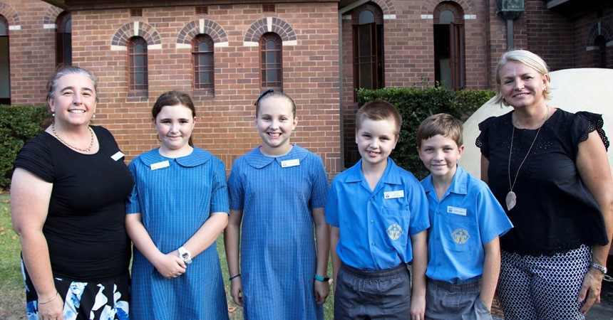St Mary's Scone awarded 2017 Monsignor Coolahan Award for School Community IMAGE