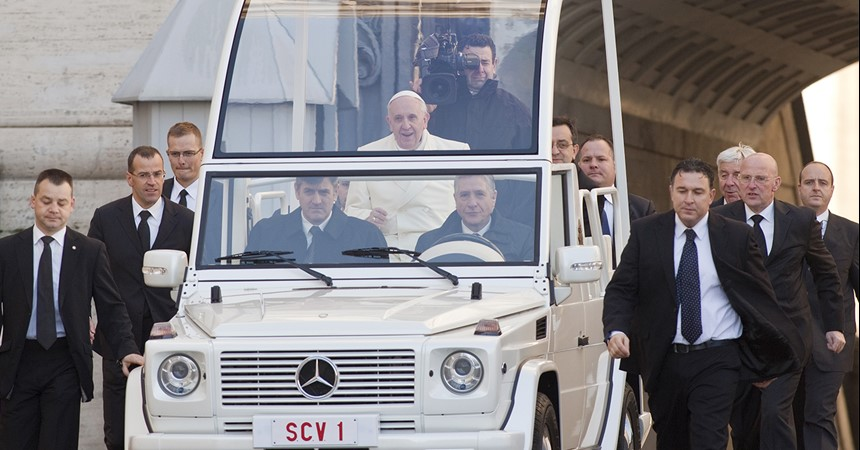 The Pope's most challenging trip yet IMAGE