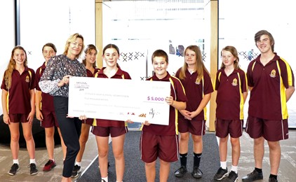Image:St Pius X Awarded School National Songwriting Winners