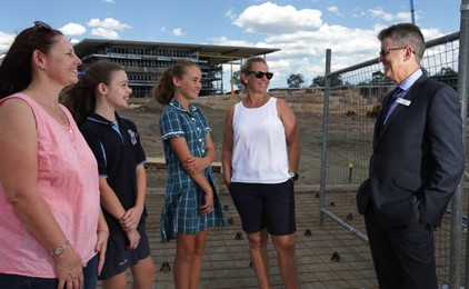 St Bede's Catholic College prepares for 2018 opening Image