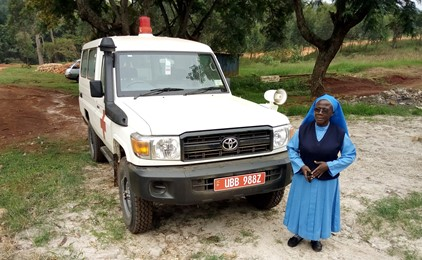 New ambulance the most vital delivery yet for Uganda maternity hospital IMAGE