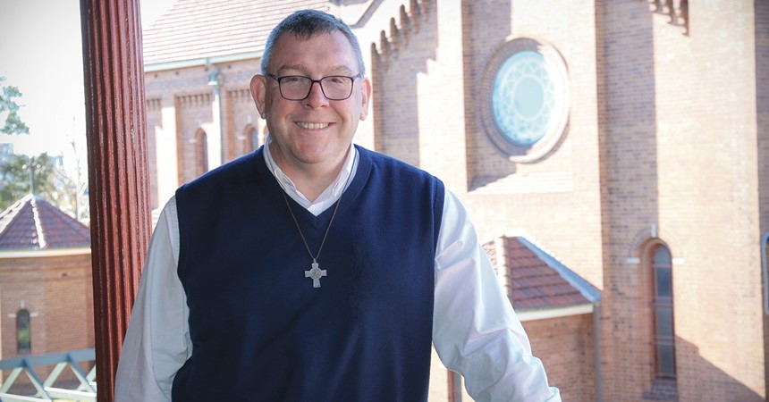 Father Brian Mascord nominated as new Bishop of Wollongong IMAGE