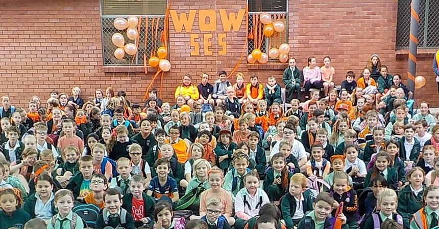 St Michael's supports SES volunteers during WOW Day IMAGE