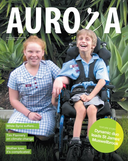 Aurora Magazine May 2017 Cover