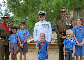 ANZAC Day Commemorations at Our Lady of Victories Shortland IMAGE
