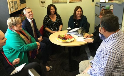 Shadow Assistant Minister for Schools visits Maitland diocesan schools   Image