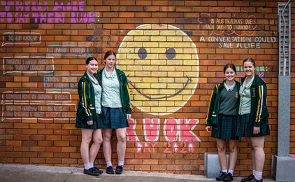 Image:Schools sweet in recognising R U OK? Day